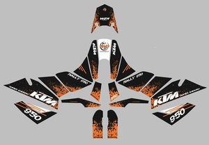 KTM SE Marathon Kit Splash Black/Orange