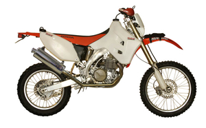 Safari 8l Honda CRF450X rear tank