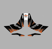 KTM SE Marathon fairing kit