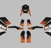 KTM SE Splash Black/Orange
