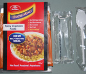 HeaterMeals - Spicy Vegetarian Pasta